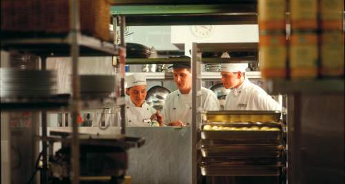 Hospitality apprentices