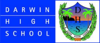 Darwin High School logo